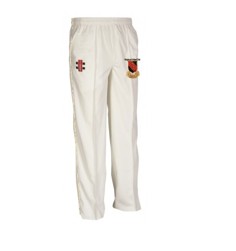WICKFORD CC SENIOR MATRIX CRICKET TROUSER IVORY