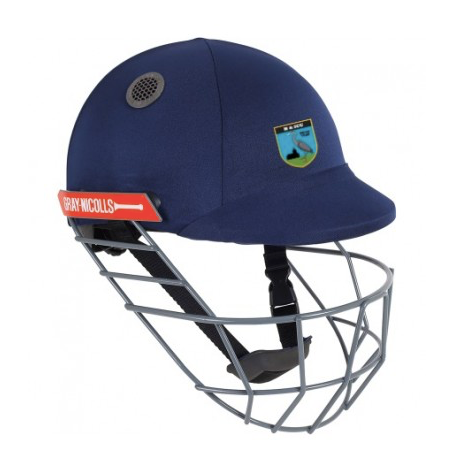 HERONGATE & INGRAVE CC ATOMIC CRICKET HELMET - NAVY