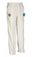 HERONGATE & INGRAVE CC JUNIOR MATRIX CRICKET TROUSERS IVORY TRIM