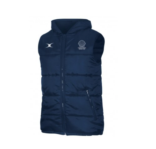 NAZEING COMMON CC PADDED GILET