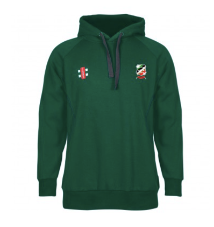 SENIOR ILFORD CC STORM HOODED TOP GREEN