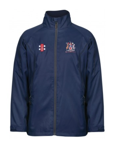 WALTHAMSTOW CC SENIOR STORM JACKET NAVY