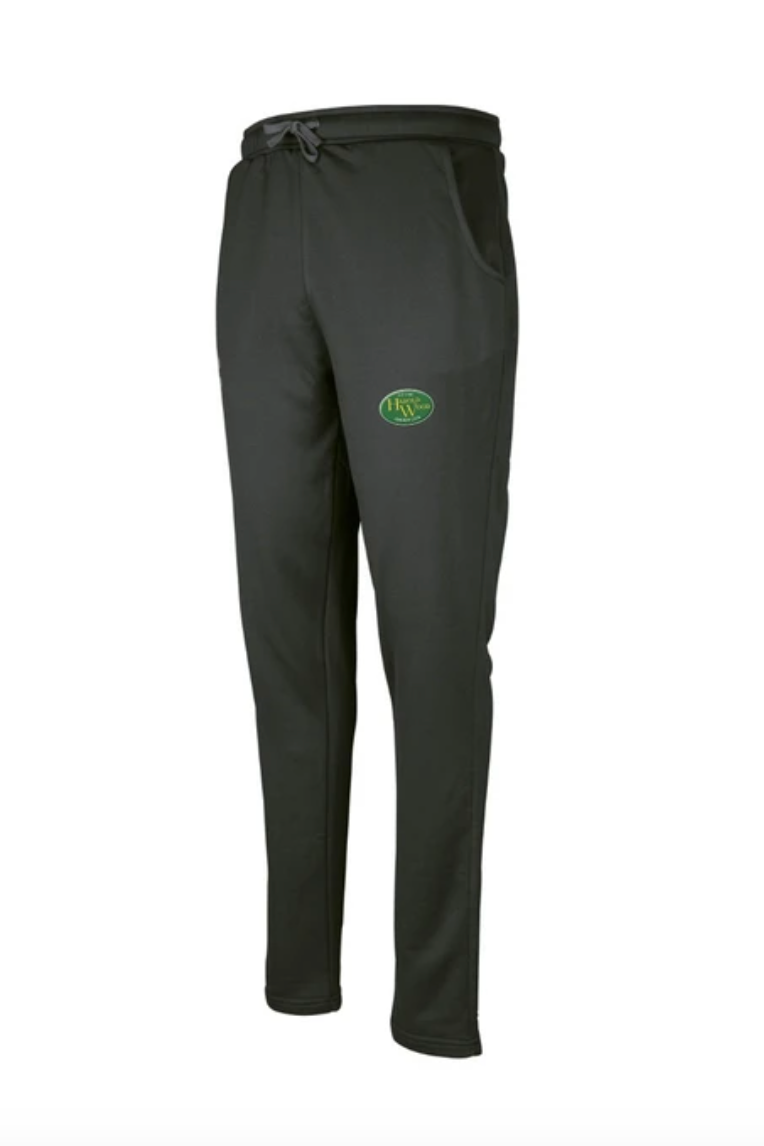 HAROLD WOOD CC  SENIOR PRO PERFORMANCE TRAINING TROUSER - BLACK