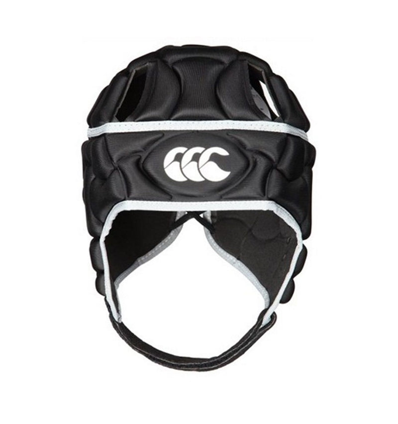 Canterbury Club Plus Rugby Headguard Black Grey