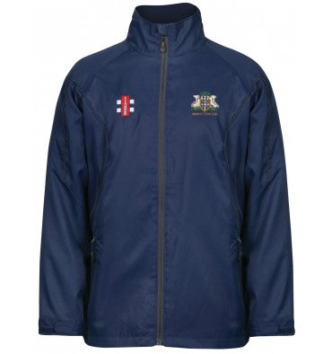 GRAY NICOLLS KIDS WANSTEAD CC STORM JACKET NAVY