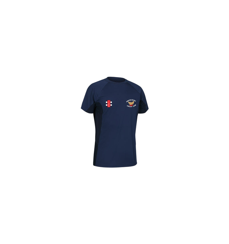 FRINTON ON SEA CC JUNIOR BAMBOO TRAINING TEE NAVY