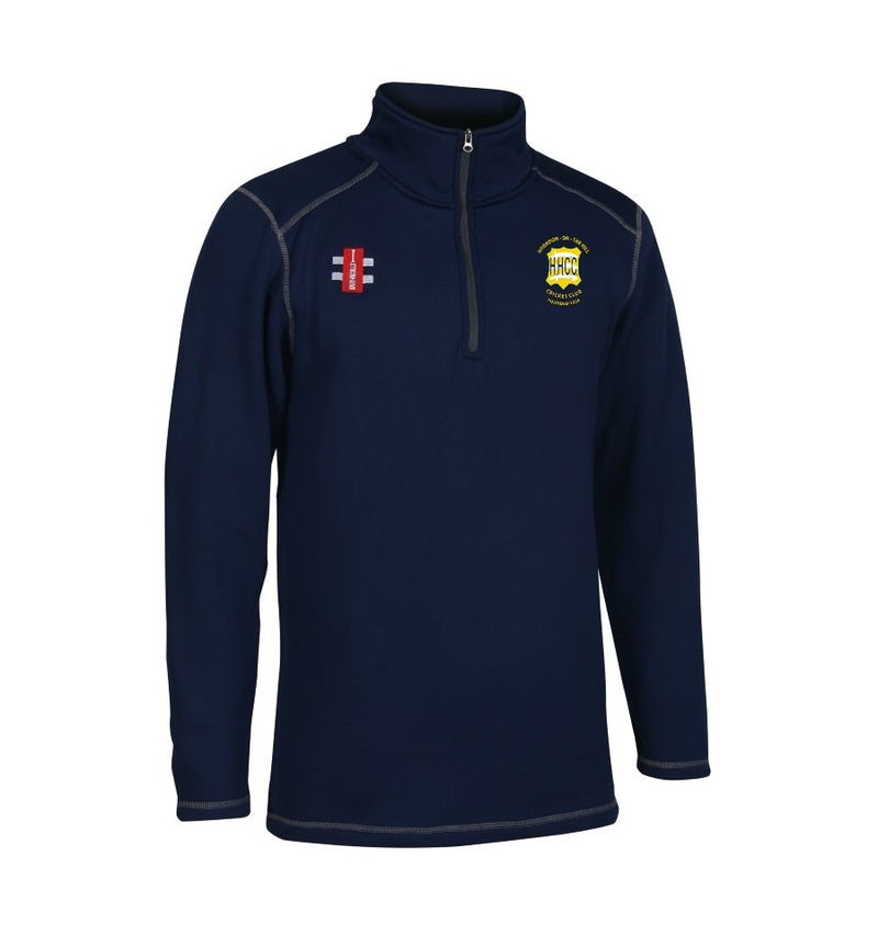HORNDON ON THE HILL CC SENIOR THERMO STORM FLEECE NAVY