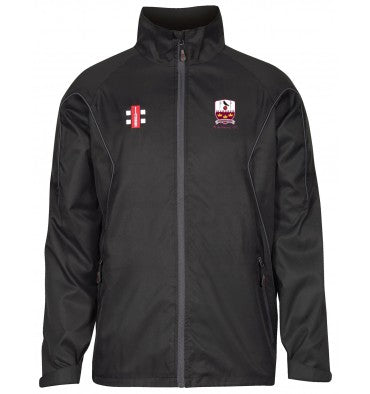 The Gray Nicolls JUNIOR Brentwood CC Storm Jacket in Black