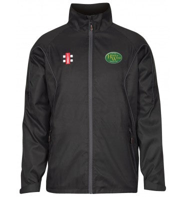 HAROLD WOOD CC SENIOR STORM JACKET BLACK