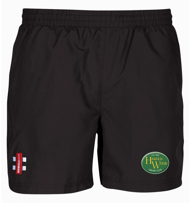 HAROLD WOOD CC SENIOR STORM SHORTS BLACK