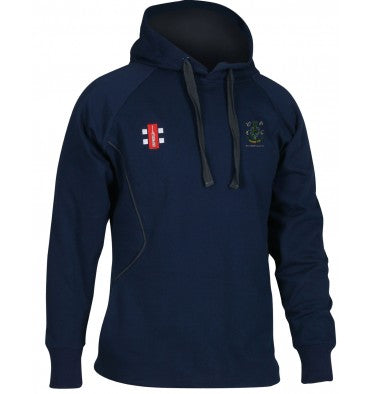 GRAY NICOLLS JUNIOR WOODFORD GREEN STORM HOODIE