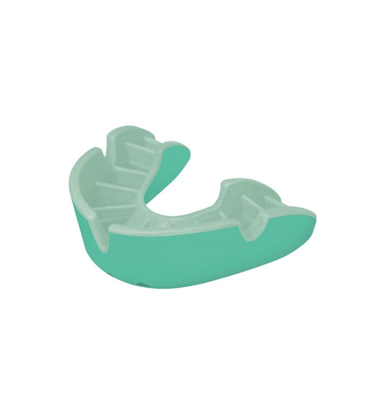 OPRO SELF-FIT MOUTH GUARD SILVER MINT