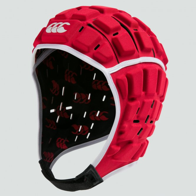 CANTERBURY REINFORCER HEADGUARD RED