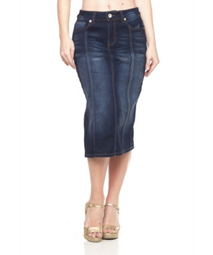 Sophia denim skirt
