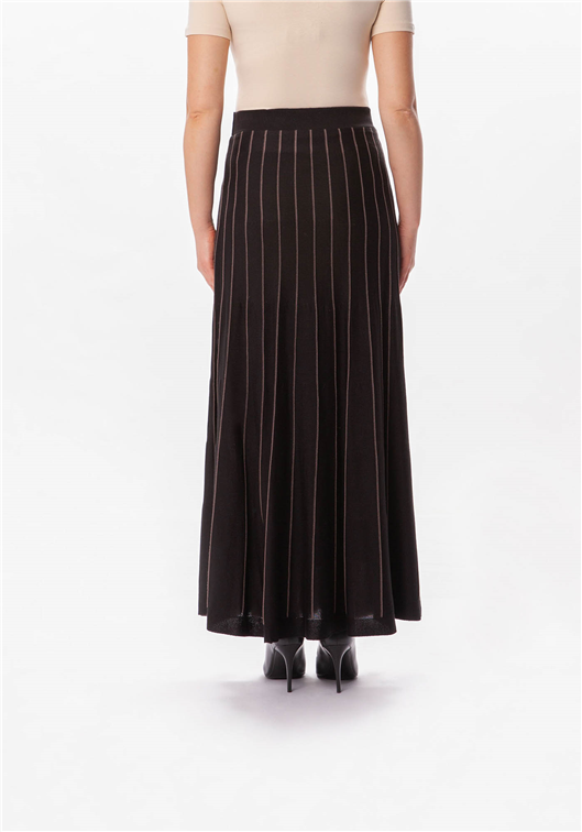 Long black sweater skirt - MODESTALINDA