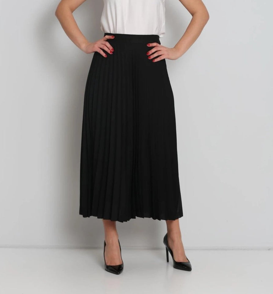 Midi Pleated skirt with elastic - MODESTALINDA