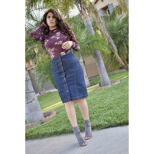 Button down skirt - MODESTALINDA