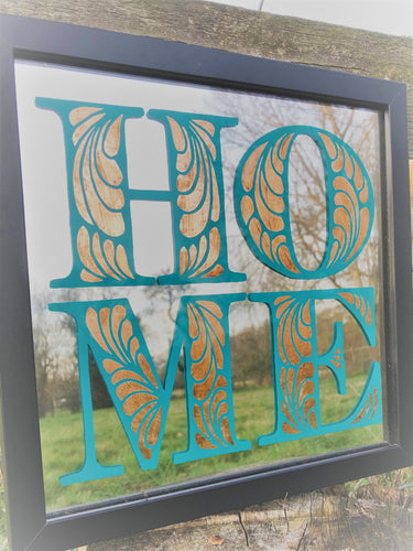 Hand Painted Home Mirror