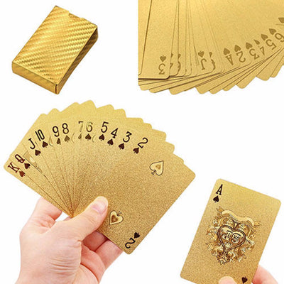 Waterproof, flexible, durable, scratch-resistant, and non-fade Black Diamond Playing Card