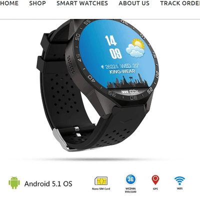 BEST RATED MTK™ 2020 SMARTFIT GPS SMARTWATCH FOR ANDROID AND IPHONE