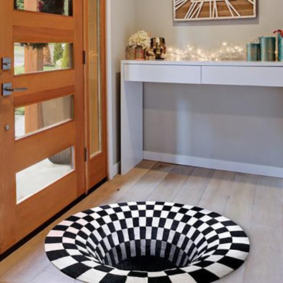 50% OFF-Vortex Illusion Rug - timetopbuy