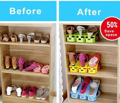 Easy Magic Shoes Organizer-Double your shoe storage space in a snap!