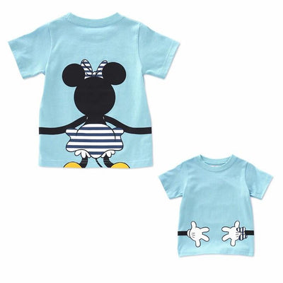 Disney Matching Family Look – Mickey and Minnie Back Hugging T-shirts