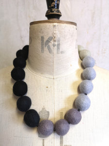 Ombre Merino Beads Grey to Black