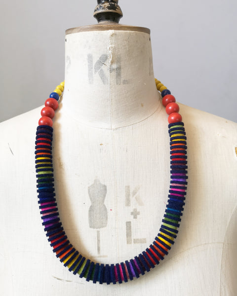 Rainbow Vertebrae Necklace