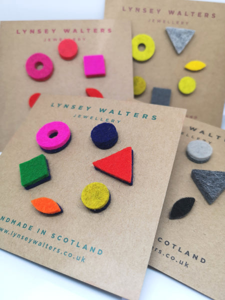 Mix 'n' Match Earrings Multi Colour