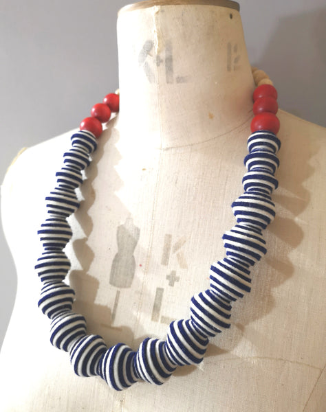 New Wave Necklace in Breton