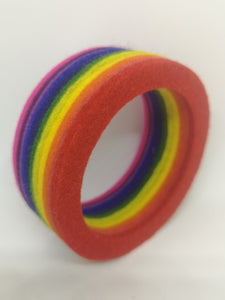 Chunky Bangle Rainbow