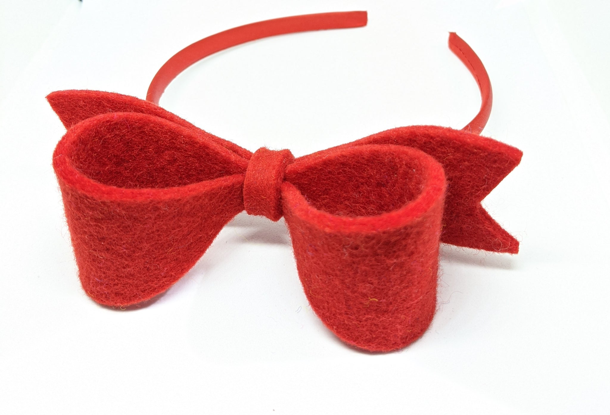 *NEW Bow Hairband - Scarlet