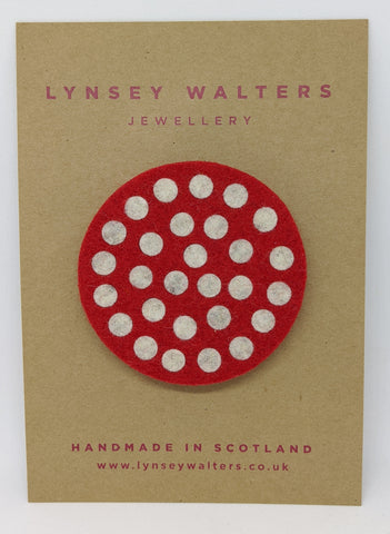 Spotty Dotty Brooch