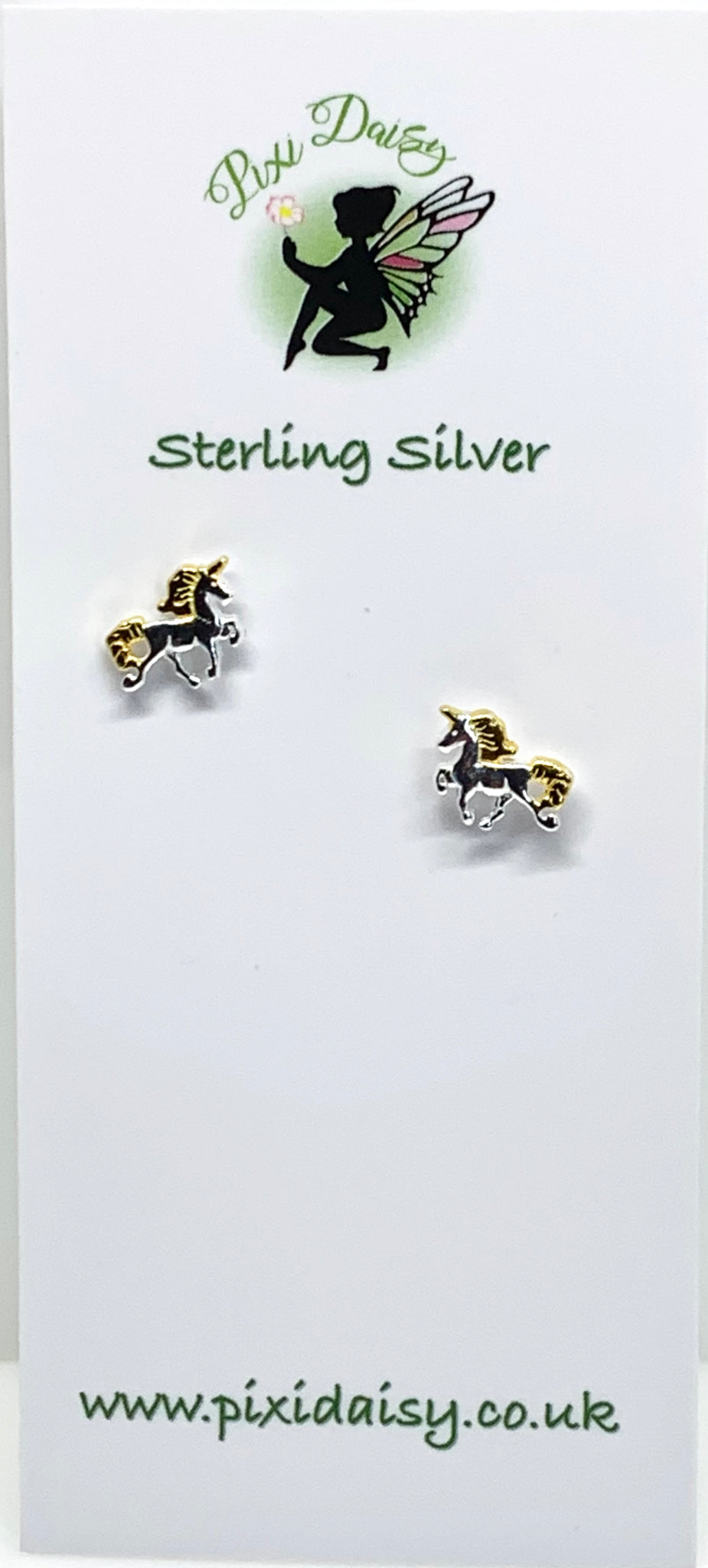 Unicorn Stud Earrings - Pixi Daisy