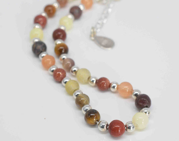 Handmade Shades of Autumn Bracelet - Pixi Daisy
