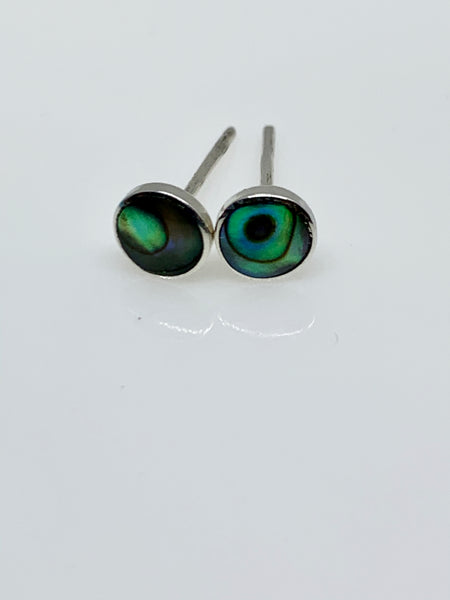 Abalone Ear Studs from Pixi Daisy