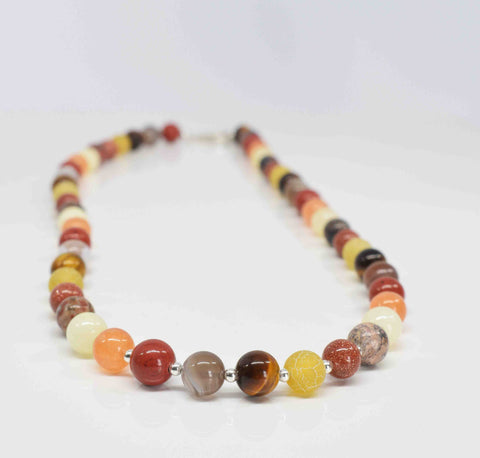 Shades of Autumn Necklace - Pixi Daisy
