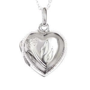 Heart Opening Locket Necklace - pixi-daisy