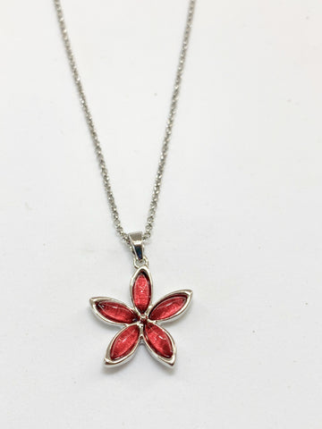 Miss Milly Pink Flower Pendant