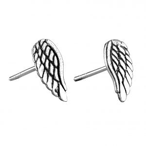 Angel Wing Stud Earrings - pixi-daisy