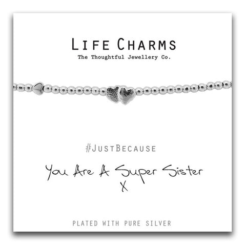You Are A Super Sister Bracelet - pixi-daisy