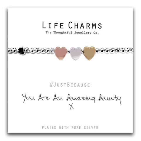 You Are An Amazing Aunty Bracelet - pixi-daisy