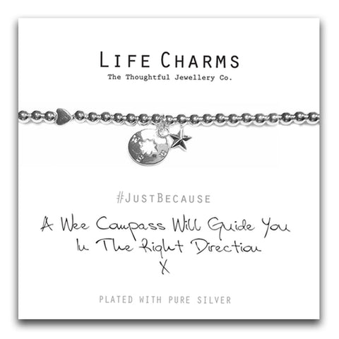 Life Charms A Wee Compass Bracelet - pixi-daisy