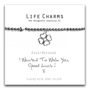 Life Charms Wish You Good Luck Bracelet - pixi-daisy