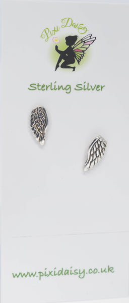 Angel Wing Ear Studs - Pixi daisy
