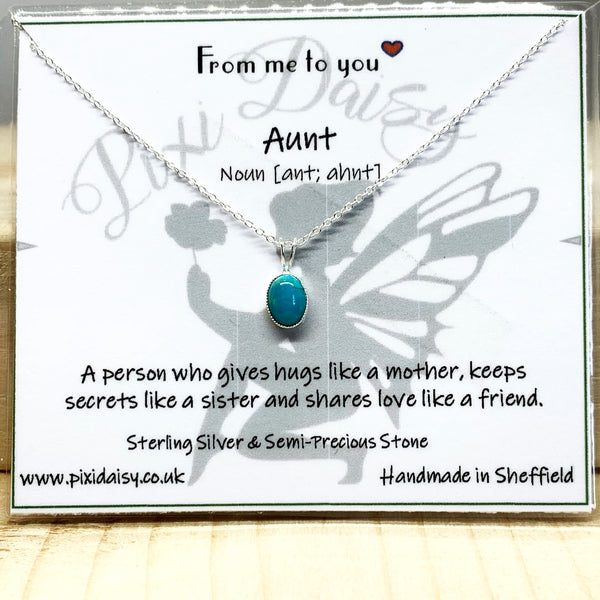 Aunt Sentiment Necklace from Pixi Daisy
