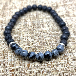 Obsidian Diffuser Bracelet from Pixi Daisy