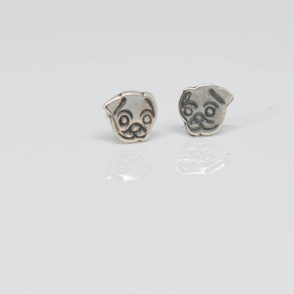 Dog Face Ear Studs - Pixi Daisy