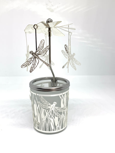 Dragonfly tea light candle holder - Pixi Daisy